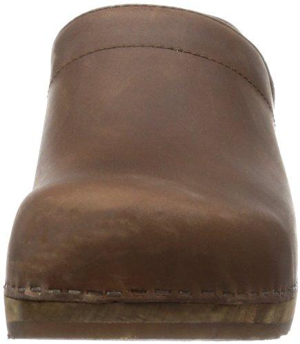 Classic Oil closed 1201005, Chaussures mixte adulte - Marron, 39 EUSanita