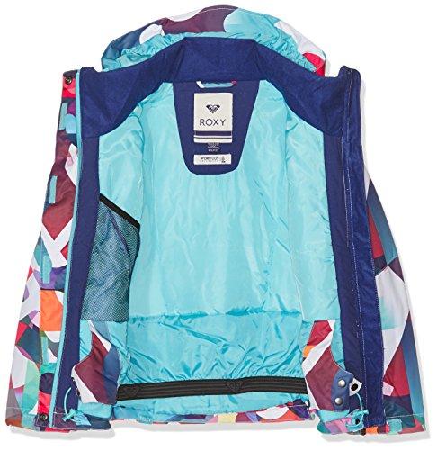roxy roxy jetty girl veste de ski outerwear fille. Black Bedroom Furniture Sets. Home Design Ideas